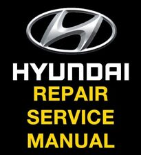 HYUNDAI TUCSON 2005 2006 2007 2008 2009 SERVICE REPAIR MANUAL