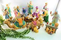 Lenox Renaissance Nativity Set 20 Pc Porcelain Holy Adoration Jesus Mary Joseph