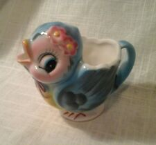 Vintage Blue Bird Anthropomorphic Creamer Lefton 7170 Japan