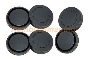(3 Packs) Lens Rear Caps & Body Censor Protective Cap for Sony E-Mount FE Mount