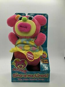"""Funrise Sing-a-Ma-Lings Sunny Sings """"Good Morning Merry Sunshine"""" Electronic Toy"""