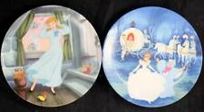 Edwin Knowles Cinderella Series 2 Collectible Plates Great Condition w/boxes