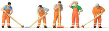 HO scale People - 10713 - Street Cleaning