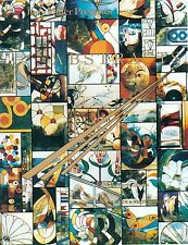 Abstracts - Abstract Stained Glass Pattern Book, Look Close at the Cover!