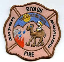 OPERATION IRAQI FREEDOM RIYADH AIR BASE FIRE DEPARTMENT CRASH RESCUE INSIGNIA