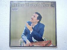 GHULAM MUSTAFA KHAN KHAYAL VOCAL 1970 RARE LP CLASSICAL INSTRUMENTAL INDIA VG