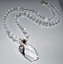 Glistening Swarovski Crystal Elements Jeanne Necklace with Pendant