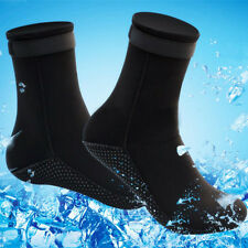 Adult Unisex S-XL 3mm Neoprene Diving Scuba Surfing Snorkeling Swimming Socks