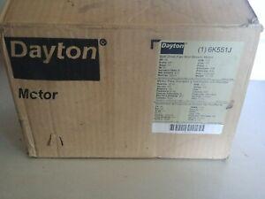 DAYTON 6K551J Belt Drive Fan Blower Electric Motor 1/6 hp 1725 rpm v115 Phase 1