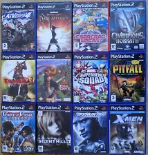 JUEGOS PS2 COMPLETOS PLAYSTATION 2 PAL ESPAÑA. PACK 3. PAGA SOLO UN ENVIO.