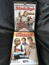 dvd movies. The Hangover; School Of Rock