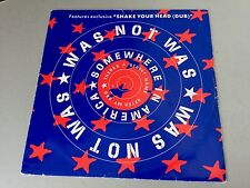1992 # VINTAGE SINGLE VINYL VINILE WAS NOT WAS SHAKE YOUR HEAD BASINGER OZZY