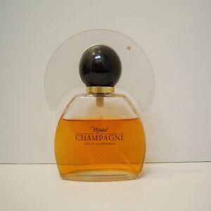 Vintage Germaine Monteil Champagne EDT Spray 3.3 oz Nearly Full