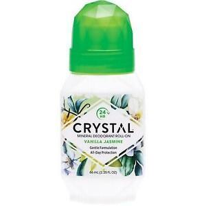 CRYSTAL ESSENCE Roll-on Deodorant Vanilla Jasmine 66ml