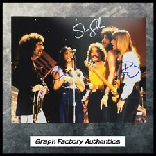 GFA x3 Neal Schon Rock Band * JOURNEY * Signed 11x14 Photo PROOF AD5 COA