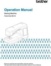 Brother Innov-is VQ2400 Embroidery Sewing Machine Manual User Guide COLOR COPY