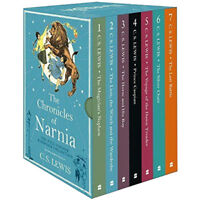 C. S. Lewis The Chronicles of Narnia Deluxe 7 Books Set Collection Hardback New