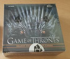 Game Of Thrones Season Eight 8 Trading Cards Box (2020) LIMITIERT SALE !!
