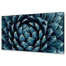 Blue Flower Modern Canvas Print Picture Wall Art Free Fast Delivery