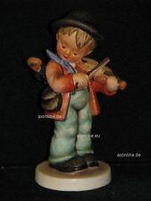 """Goebel Hummel 4 """"Geiger lessile"""", Little quantistica, ragazzo svolge violino con ombrello"""