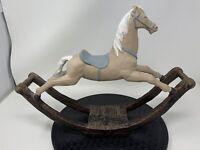 Ethan Allen Rocking Horse - Vintage 1982- Equestrian Great Horse Lover Piece