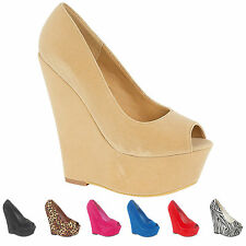 "Women's Suede Party Very High Heel (greater than 4.5"") Shoes"