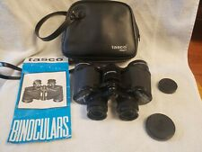Vintage tasco zip binoculars 7x35mm wide angle 525ft/1000yards right eye focus