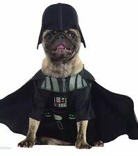 NWT Disney Darth Vader Star Wars Halloween Pet Dog Costume Small Cape Headpiece