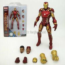 Marvel Avengers 3 Infinity War Mark XLIII Armor Iron Man MK43 PVC Figure NIB 098