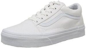 Original Vans Old Skool VN000D3HW00 True White Canvas Adult Unisex