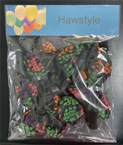 Hawstyle 15Pcs Happy Birthday Latex Balloons Glow In The Dark Xmas Party Kids