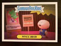 Topps Garbage Pail Kids NYCC 2019 Promo Card NYCC2019