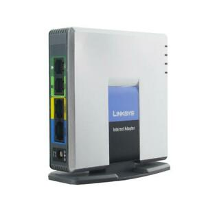 Unlocked Linksys SPA3102 VoIP Phone Adapter with Router DHCP server Voice overIP