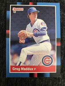 1988 Donruss Greg Maddux #539 Chicago Cubs. Near Mint. 2nd Year!