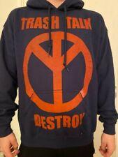 TRASH TALK DESTROY HOODIE HOODED SWEATSHIRT NEW OFFICIAL BAND NO PEACE 119 EYES