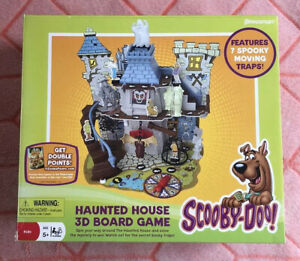 Scooby-Doo Haunted House 3D Board Game by 2007 Pressman Complete