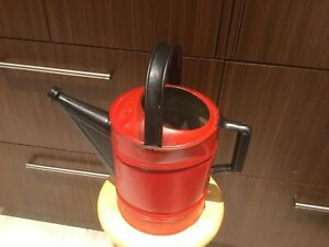 Vintage No.10 Galvanized Metal Painted Watering Can