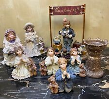 Lot Boyds Yesterday Child's Figurines from The Dollstone Collection (7 pcs)