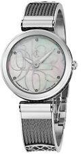 Charriol Women's Forever MOP Dial Stainless Steel Swiss Quartz Watch FE32101001