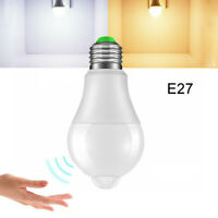 LED Leuchtmittel B22/E27 mit Dämmerungsschalter und Bewegungsmelder weiß Sensor
