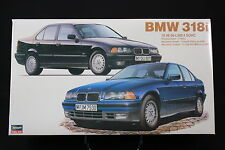 XO033 HASEGAWA 1/24 maquette voiture 24016 CD016 2000 BMW 318i metallic blue