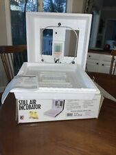 Little Giant Still Air Egg Incubator Model 9200 w Original Box Works Made In Usa