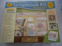 NWT The Complete Scrapbook Kit, 12x12 Post Bound Album and Embellishments 800+