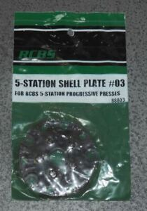 RCBS 5 Station Shell Plate #03-(88803)-NOS-In Package