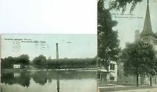 Kendallville IN The Water Works and The M.E. Church