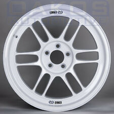 "ENKEI RPF1 Wheels 17x9"" 5x100 +35 Offset WHITE Single Rim for WRX BRZ FRS"