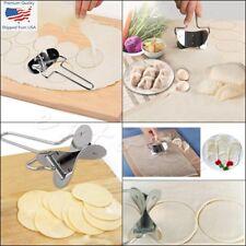 Kitchen Stainless Steel Dumpling Wrappers Skin Cutter Maker Mold Mould 7CM