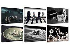 "star wars lego funny(2)/ canvas prints/ set of 6 new frames/ 12""x 8"" x0,7"""