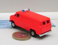 FW0027:  Chevrolet Van,  Feuerwehr    RAL 3024  tagesleuchtrot