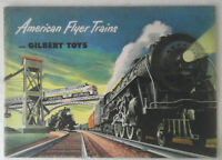 Original American Flyer 1952 Catalog D1677 Excellent Used Condition 48 Pages